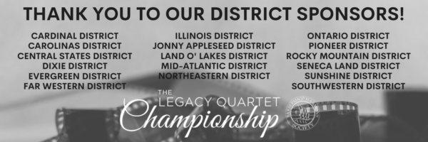 Proud sponsor districts