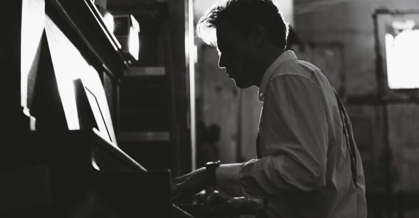 General Man Playing Piano