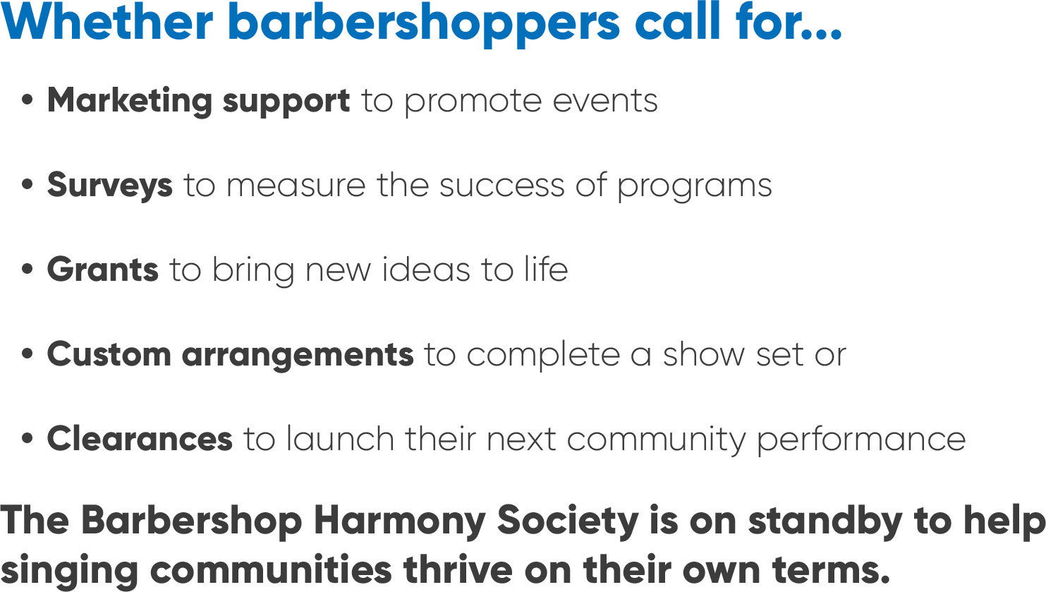Text whetherbarbershoppers