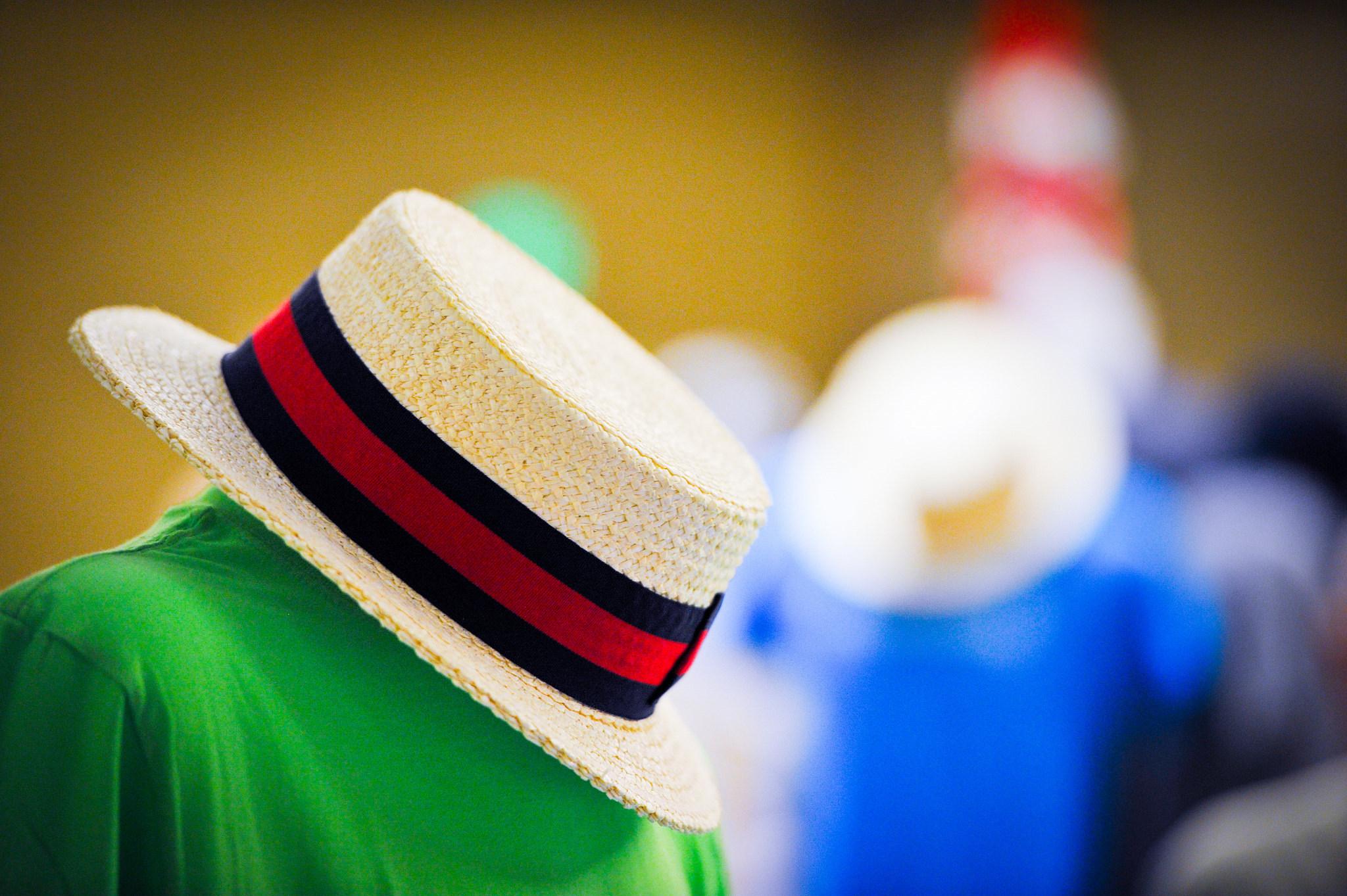 GENERAL - Boater hat