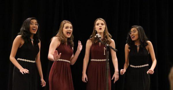 Singing Double Womens Quartet