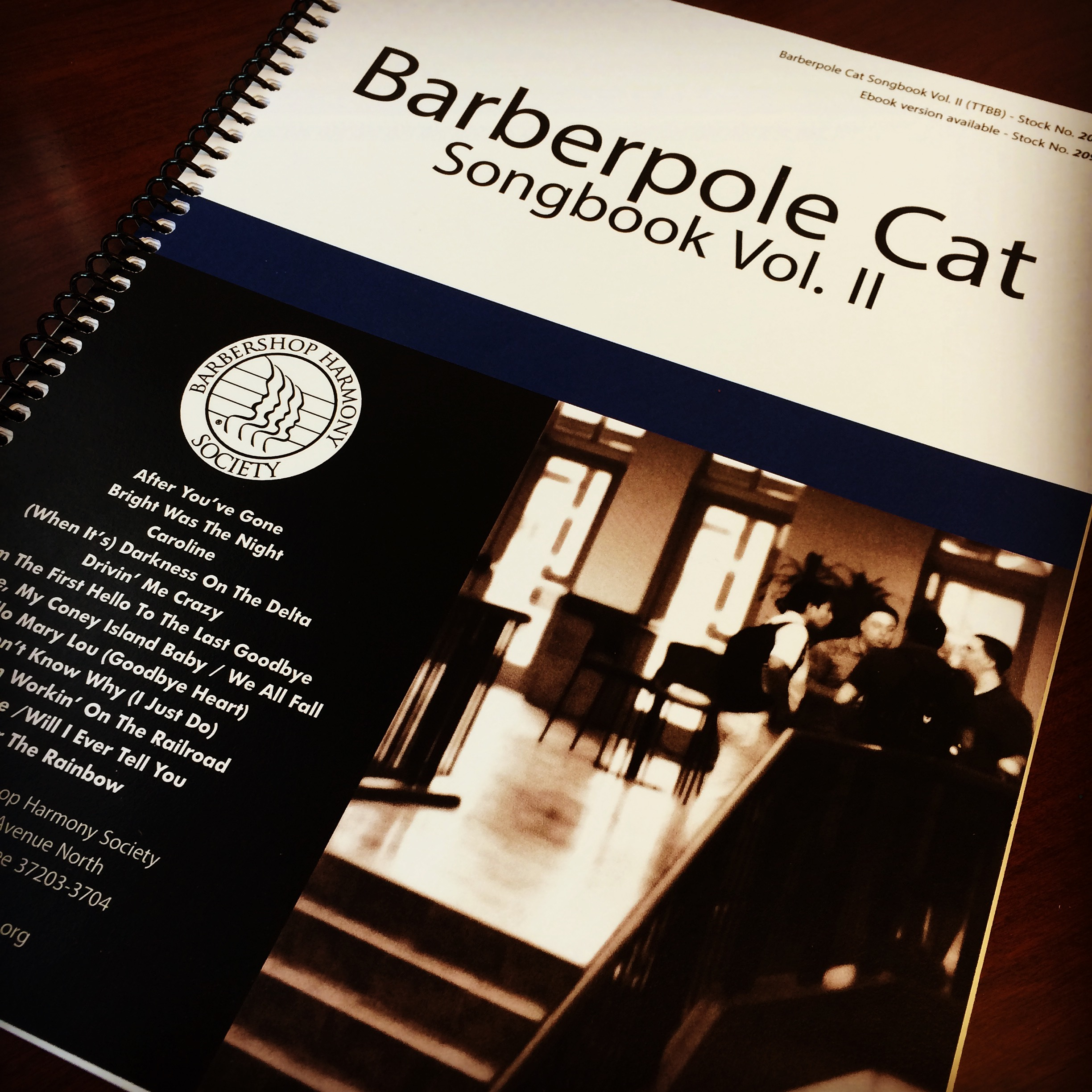 MUSIC - Barberpole Cat II
