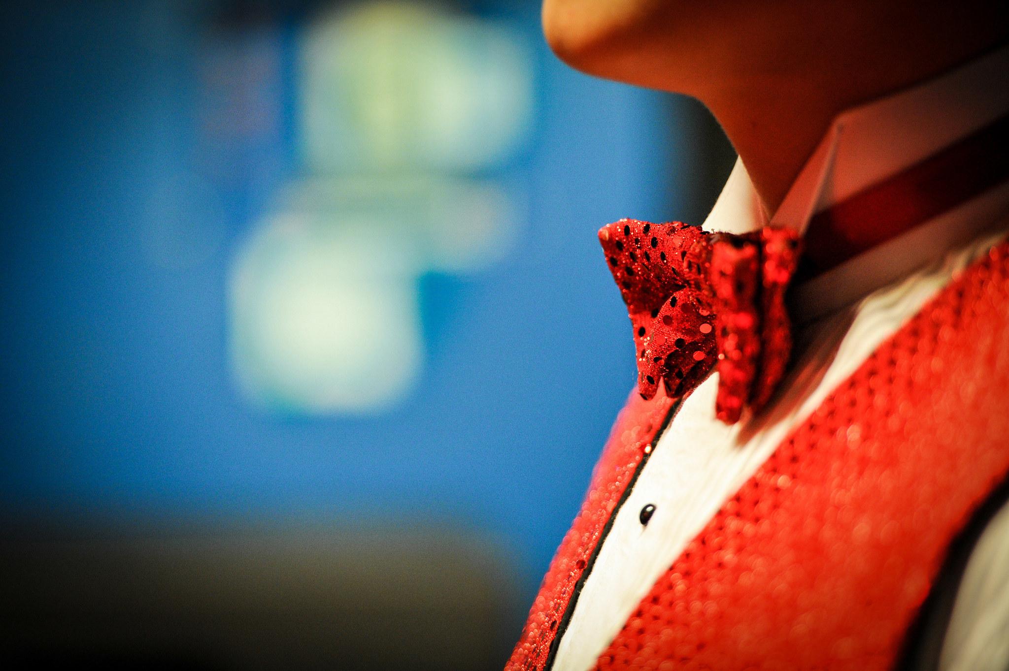 SINGER - bow tie