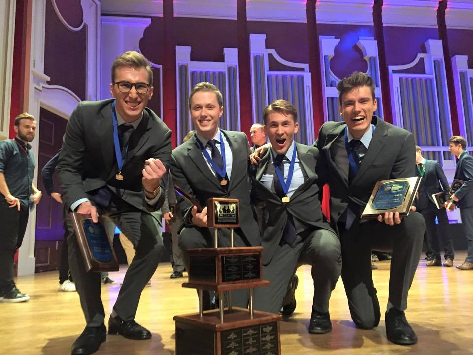 QUARTET - Trocadero - International Varsity Champions